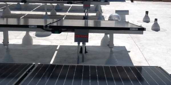 Flat Roof Tilt Up Solar Mount in San Diego