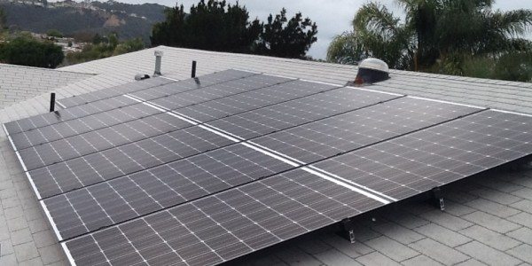 Clairmont Solar Installation Roof Mount
