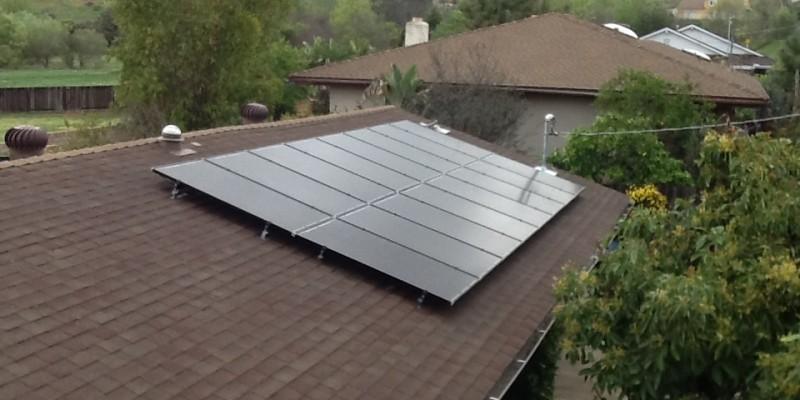 Escondido, CA Solar Roof Mount