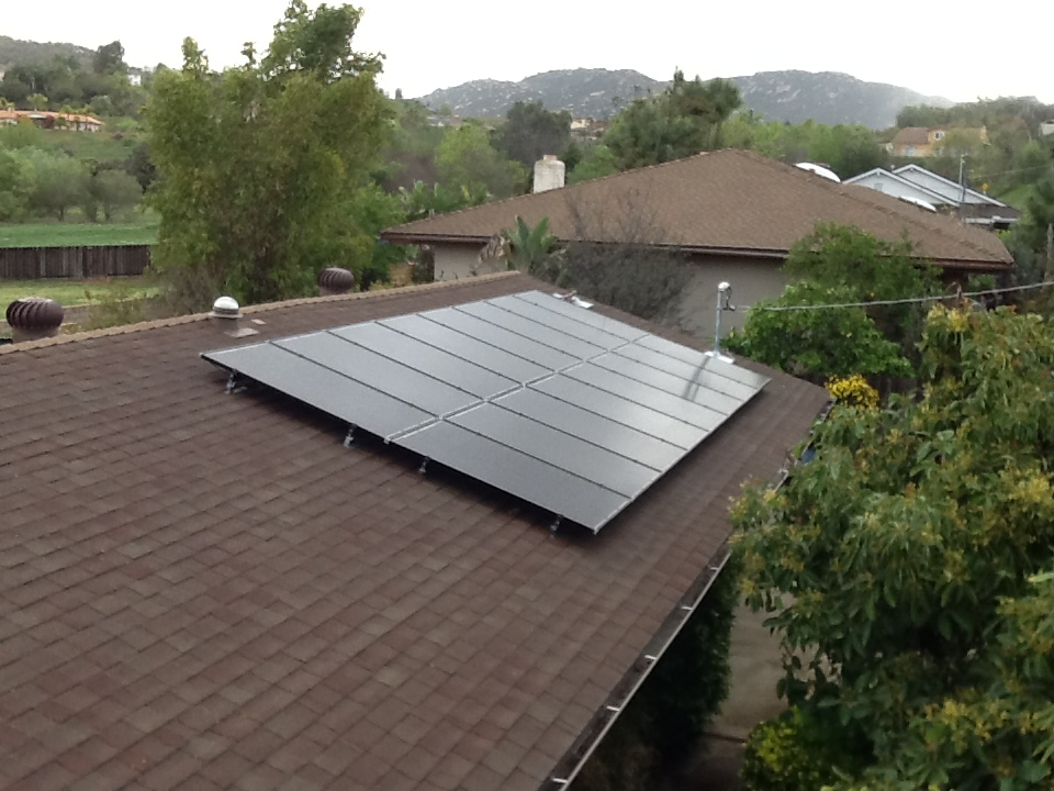 Escondido, CA Solar Roof Mount