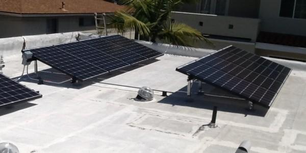 North Park Solar Installation