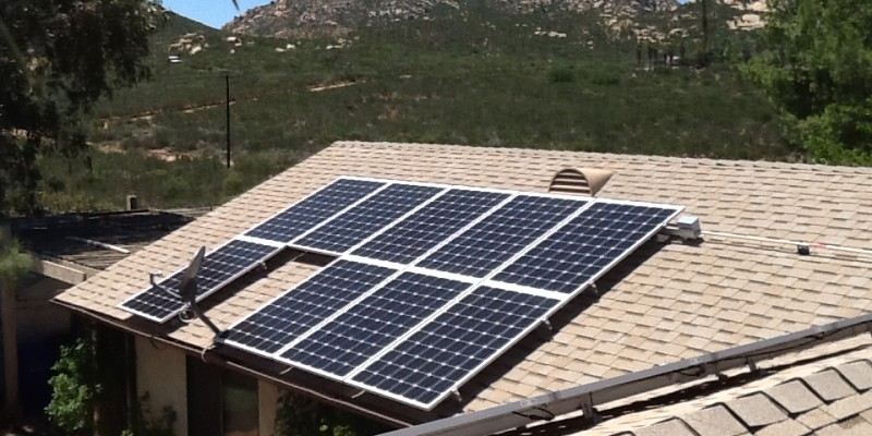 San Diego County Estates Solar Installation